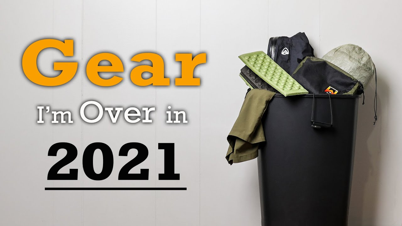 Download Backpacking Gear I'm OVER in 2021