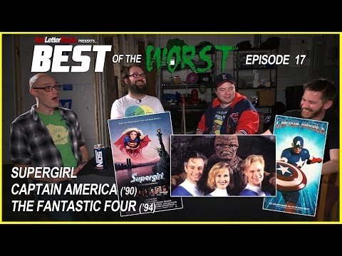 Best of the Worst: Supergirl, Captain America 1990, and Roger Corman's tastic Four