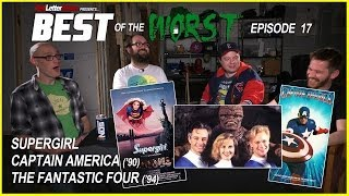 Best of the Worst: Supergirl, Captain America (1990), and Roger Corman's Fantastic Four
