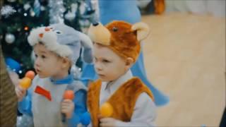 Новый год в детском саду. Танец с маракасами для самых маленьких