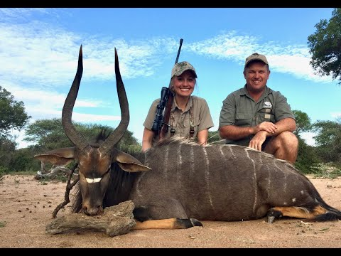 Africa Part 3 - Nyala, Zebra, and Waterbuck with Comre Safaris