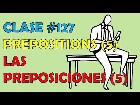 """clase-#127-/-la-preposición-""""on""""-en-inglés.-/-preposition-""""on"""""""
