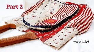 DIY MULTI-PURPOSE POCKET 【PART 2】MULTI-PURPOSE TOTE BAG TUTORIAL #HandyMum