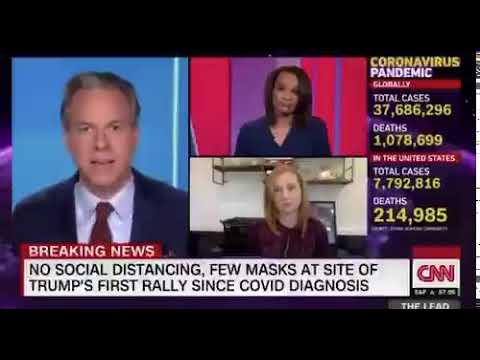 """Jake Tapper says Trump is trying to """"kill off"""" his supporters"""