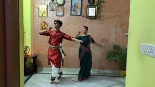 PANKAJ RAWAT & BHAVNA BISHT Facebook live video Khathak Dance
