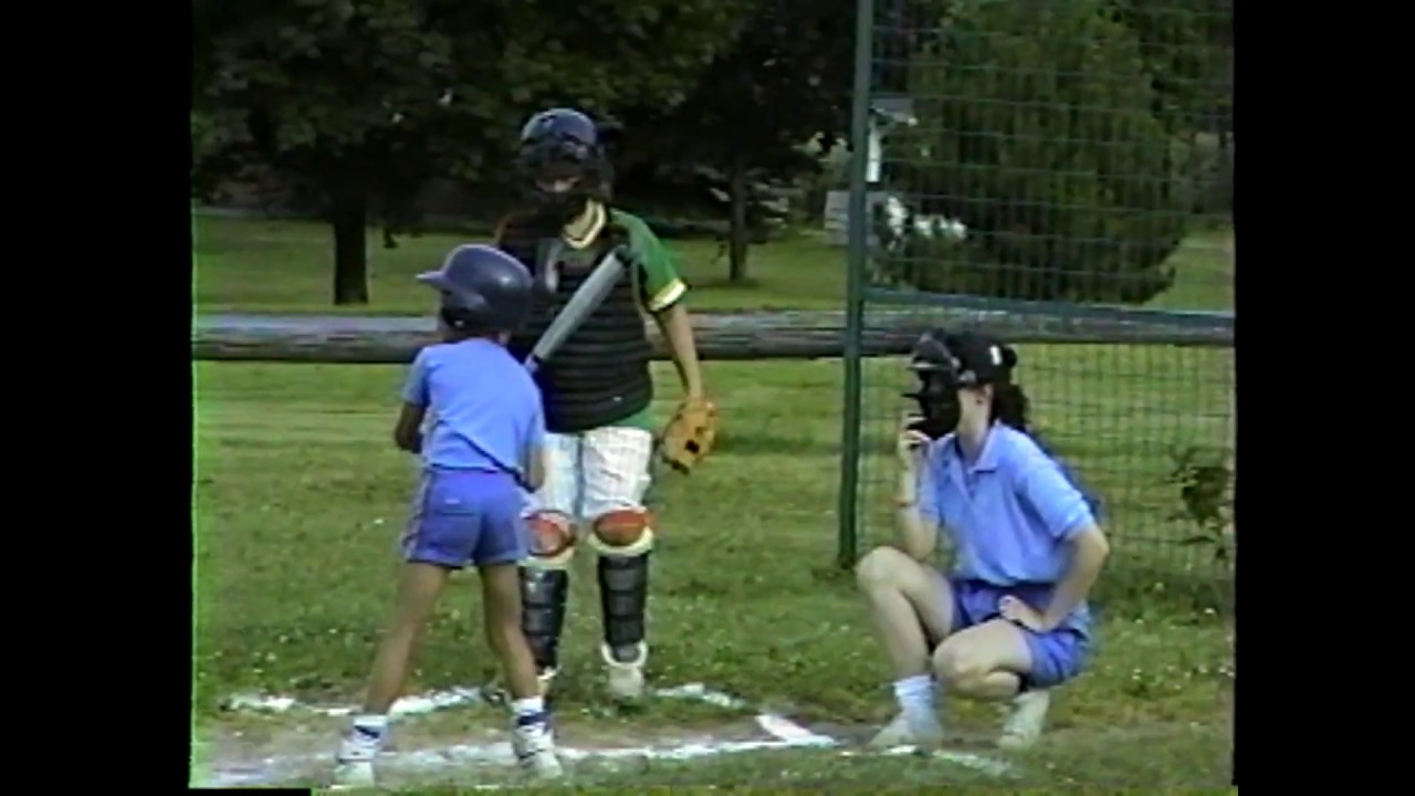 Champlain - Chazy grasshopper softball  7-22-87