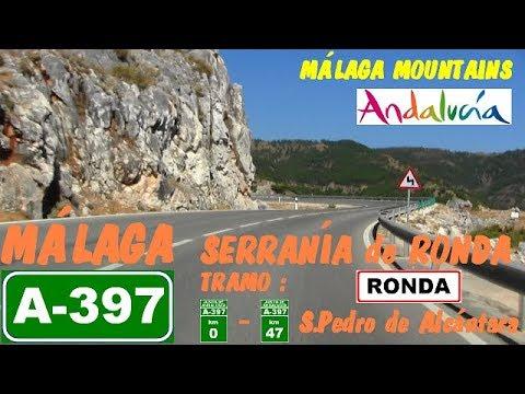 A-397 Málaga , Serranía de Ronda / Málaga Mountains , Ronda , Andalusia , Spain