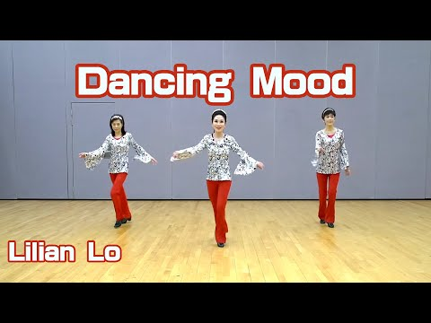 Dancing Mood - line dance by Lilian Lo (Hong Kong) demo+tutorial