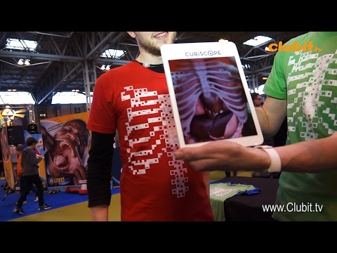 Virtuali-Tee The Augmented Reality Anatomy T-Shirt