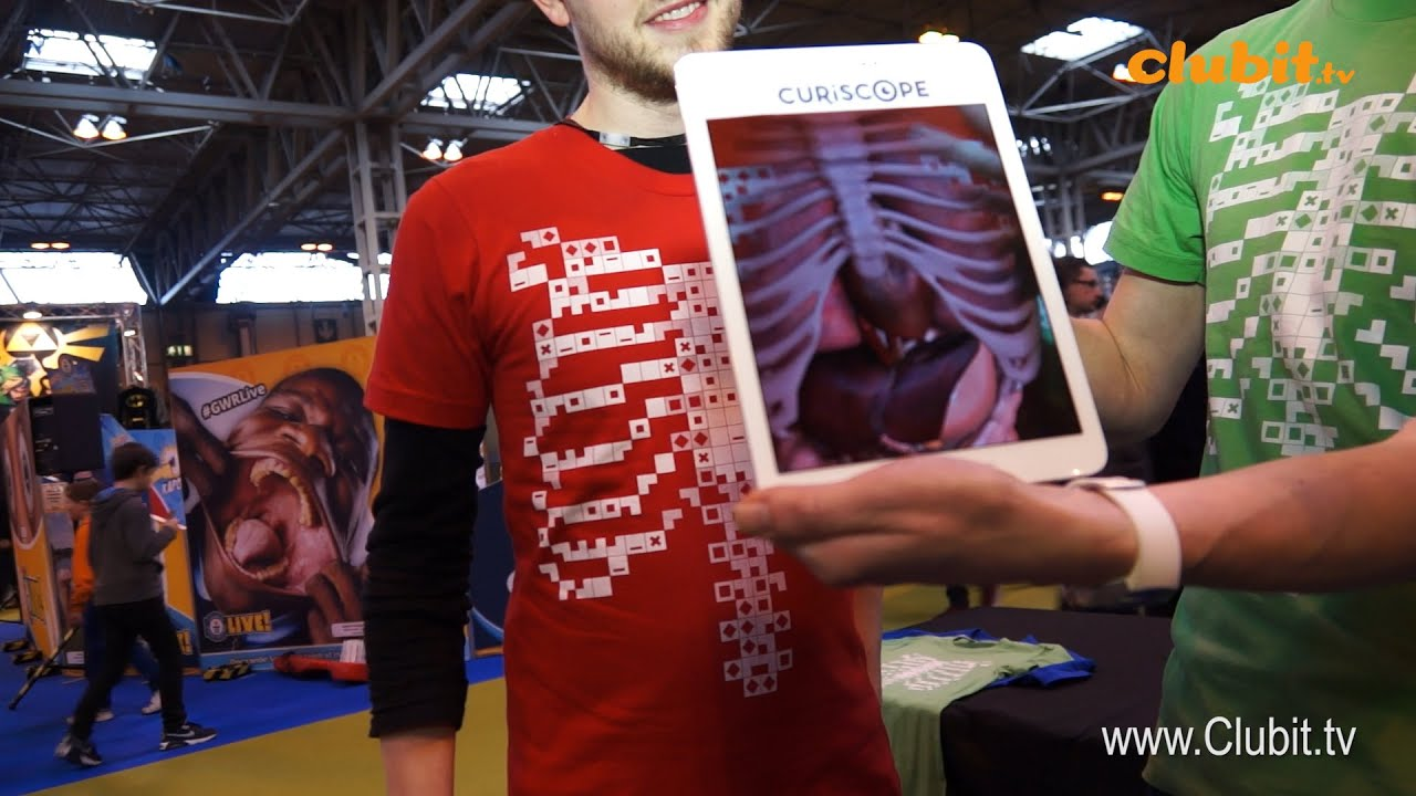 Virtuali Tee The Augmented Reality Anatomy T Shirt Youtube