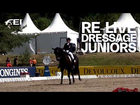 RE-LIVE | Dressage (J Individual Part 1) | FEI European Championships CH / J / YR