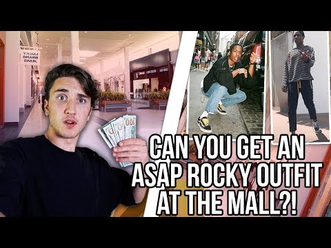 CAN YOU GET AN A$AP ROCKY OUTFIT AT THE MALL?!