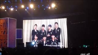 [fancam] 121218 HK YAHOO BUZZ AWARD - SJM VCR CUT
