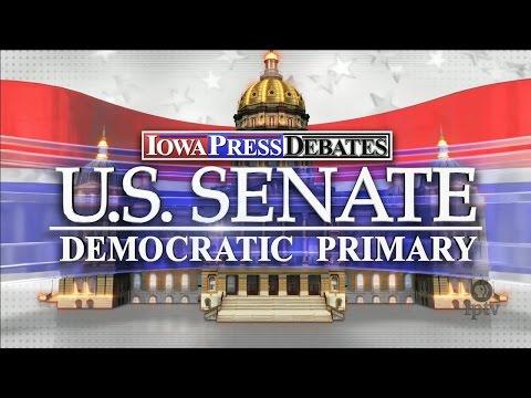 Iowa Press Debate: U.S. Senate Democratic Primary
