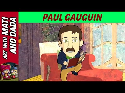Art with Mati and Dada – Paul Gauguin | Kids Animated Short Stories in English