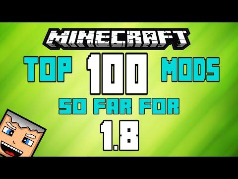 Best 100 MINECRAFT MODS for 1.8! (New 2015) (Actual Minecraft 1.8 Mods)