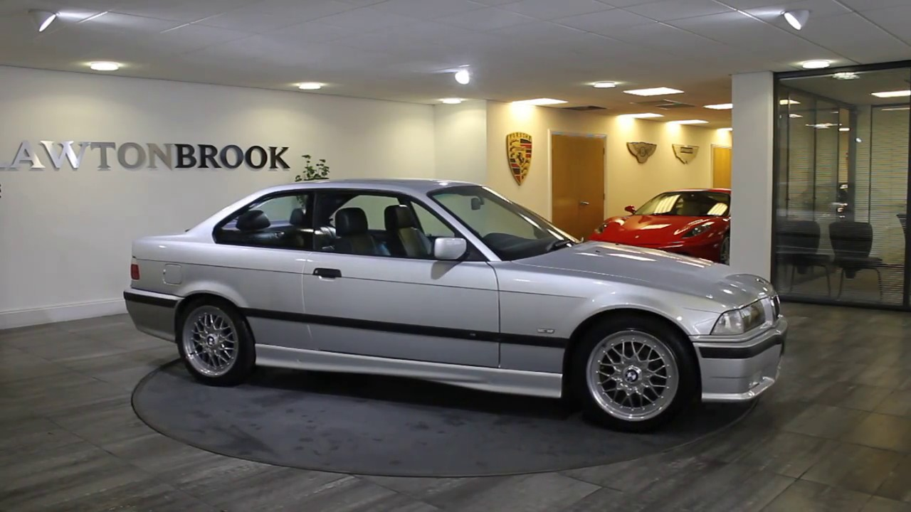 Bmw 328i coupe titan silver with black leather 1998 lawton brook