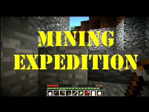MineBuild77 ep3 - Mining Expedition - Sydney's Spectacular Land