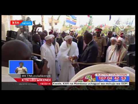 Rais Uhuru Kenyatta afungua taasisi ya elimu iliofadhiliwa na jamii ya Dawoodi Bohra