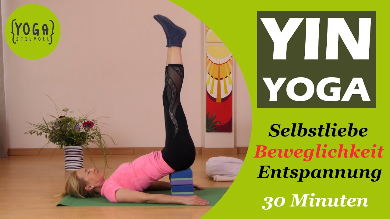 Yin Yoga Fur Anfanger Faszien Dehnen Achtsamkeit Entspannung Geschmeidigkeit Youtube
