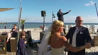 Sektempfang - Hochzeit, Hochzeitssänger Hamburg, Danilo Gobbetto