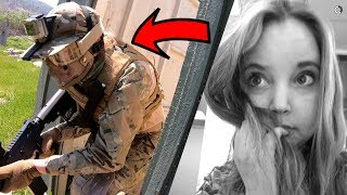 The Cutest Airsoft Player EVER!