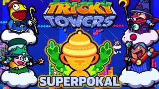 Wir spielen den SUPERpokal! | Tricky Towers