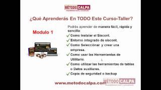 Metodo Calpa, Curso Contabilidad Computarizada Calpa Siscont
