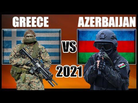 Greece vs Azerbaijan Military Power Comparison 2021