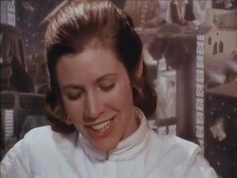 Carrie Fisher - The Empire Strikes Back Interview