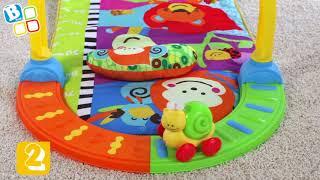 B kids - развивающий центр Смотри как я расту (коврик с подвесными игрушками)
