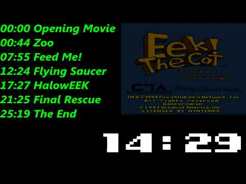 Eek! The Cat (SNES) Music / Soundtrack