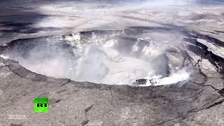 Entire neighborhood devoured by lava from Hawaii volcano