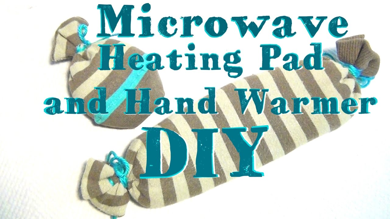 Diy Microwave Heating Pad And Hand Warmers Without A Sewing Machine You
