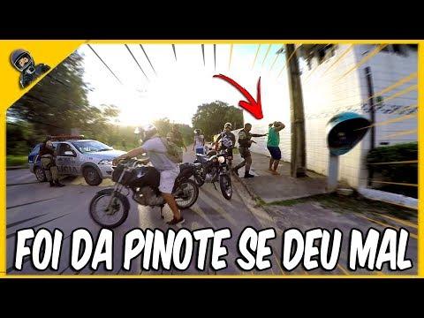 MOTOQUEIRO FOI DA PINOTE NA POLICIA E SE DEU MAL 🙀 🚨