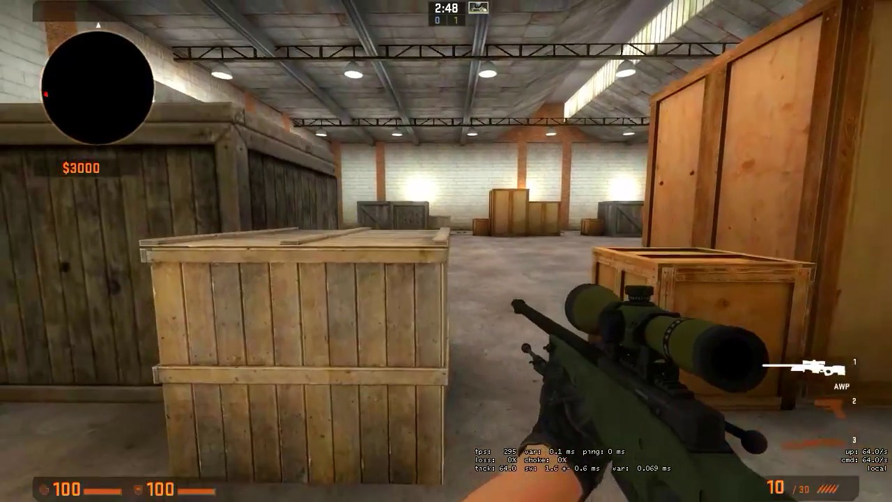 Setting up a 1v1 local server in CS:GO