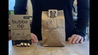 Paper bag Bubbe Clip