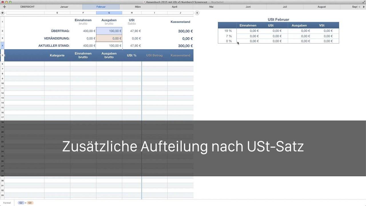 Einnahmen Ausgaben Rechnung Excel Freeware Mac