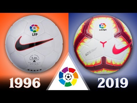All of La Liga Official Balls From 1996 to 2019