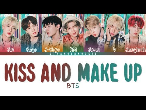 "How Would BTS Sing Dua Lipa X BLACKPINK "" Kiss And Make Up "" (Male Version) Lyrics"