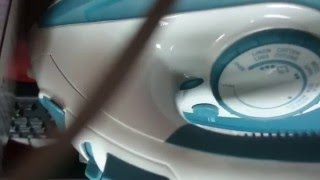 BLACK & DECKER STEAM IRON X1600 FIRST IMPRESSION AND UNBOXING