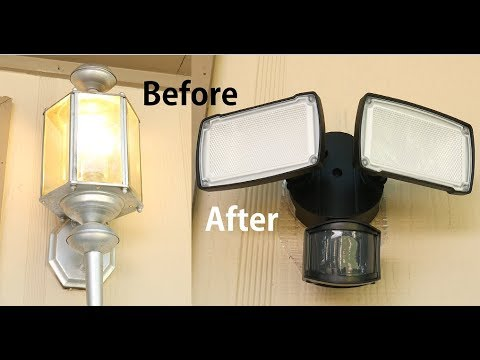 How To Install Replace Outdoor Light Easy Simple
