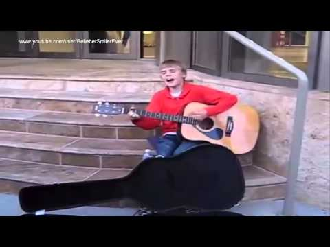 The Star of Stratford, Canada- Justin Bieber (before he was famous)