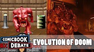 Evolution of DOOM Games in 6 Minutes (2017)