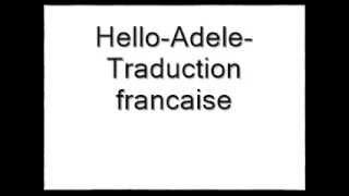 Adele-Hello-Traduction francaise