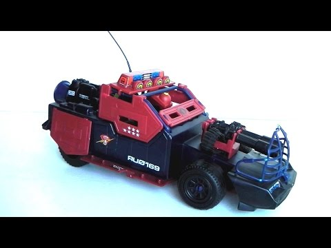1986 Dreadnok Thunder Machine & Thrasher G.I. Joe review