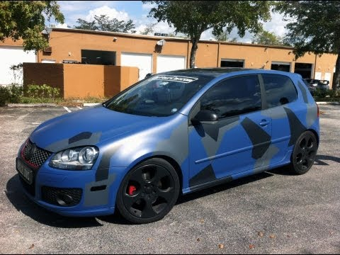 Camo Plasti Dip A Car Youtube