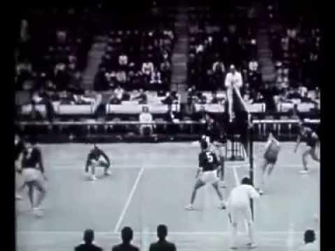 3-й сет финала СССР - ЧССР на Олимпиаде в Токио - 1964