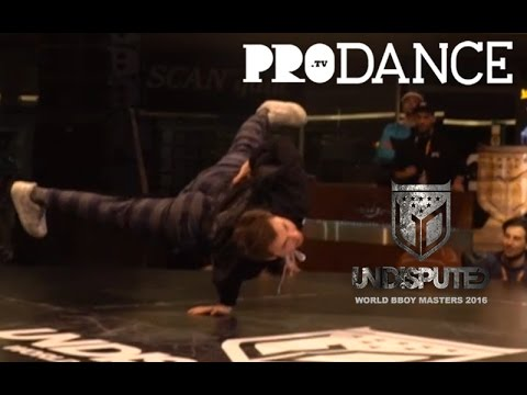 BRUCE ALMIGHTY VS THESIS | PRE-ROUNDS | UNDISPUTED WORLD BBOY MASTERS 2016