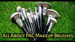 ALL ABOUT PAC MAKEUP BRUSHES  | PART - 1 IN HINDI | PALLABI TUTORIALS